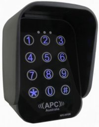 Wireless Two Channel Keypad