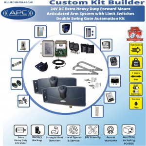 Build Your Own Kit with APC-890 Forward Mount Extra Heavy Duty Articulated System With Adjustable Limit Switches
