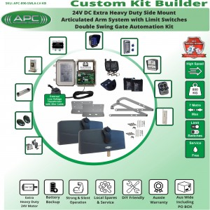 Build Your Own Kit with APC-890 Side Mount Extra Heavy Duty Articulated System With Adjustable Limit Switches