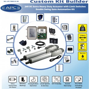 Build Your Own Kit with T800S Heavy Duty Linear Actuators With Adjustable Limit Switches