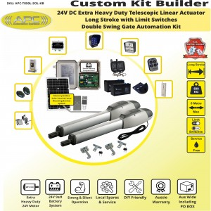Build Your Own Kit with T850L Extra Heavy Duty Linear Actuators With Adjustable Limit Switches