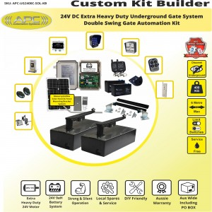 Build Your Own Kit with APC-UG2400C Extra Heavy Duty UNDERGROUND System With Adjustable Limit Switches