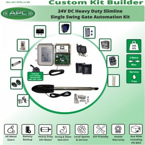 Build Your Own Kit with T575L Linear Actuator Single Swing Gate Opener