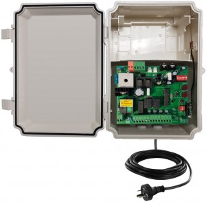 APC 24V  DC Sliding Gate Control Board with Weatherproof Control Box