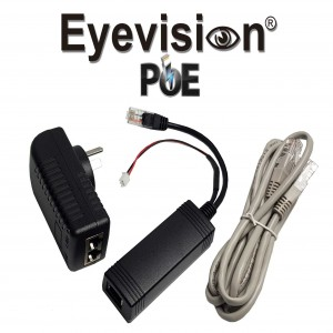 Eyevision POE (Power over Ethernet) Adapter Kit