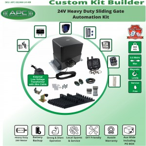 Build Your Own Kit with APC-SG24W Heavy Duty 500KG System