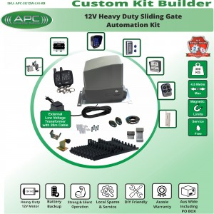 Build Your Own Kit with APC-SG12W Heavy Duty 300KG System