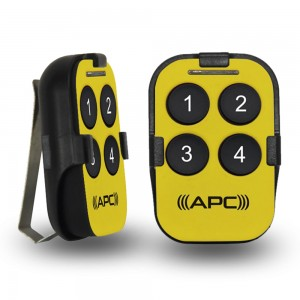 APC Sunvisor Remote (Canary Yellow)