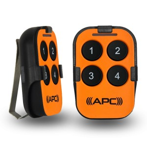 APC Sunvisor Remote (Orange)