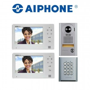 Aiphone Intercom System * Two Monitors + Outdoor unit + Keypad* (Ex Indoor display)