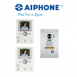 Aiphone Intercom System * Two Monitors & Outdoor Unit* (Ex Indoor display)