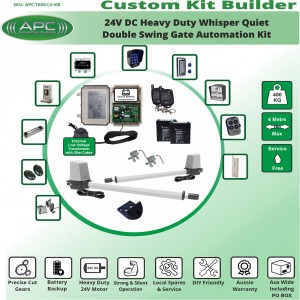 Build Your Own Kit with T650 Whisper Quiet Aluminum Linear Actuators Gate Automation Systems
