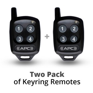 Two Keyring Remote Value Pack