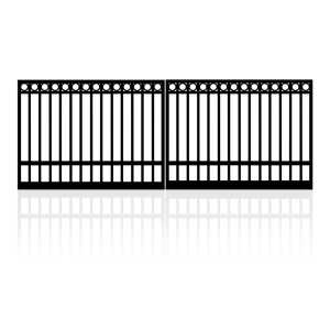 5m Double Ring Top Gates (2x2.5m)