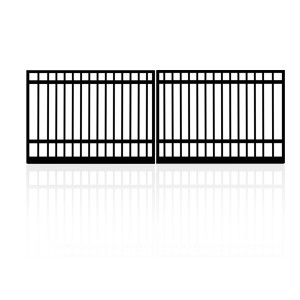 4m Double Square Top Gates (2x2.0m)