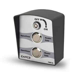 APC Wired Double Push Button Switch with Key Issolation