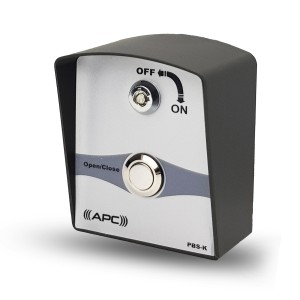 APC Wired Single Push Button Switch with Key Issolation