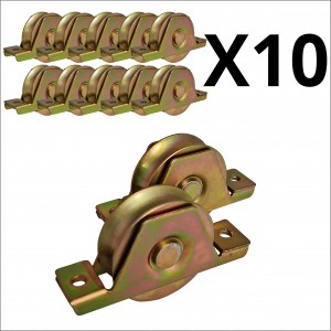 10X Bulk 68mm Recess Mount Wheels