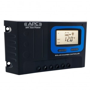APC Sun Power Series 12V/24V 10A PWM Solar Regulator