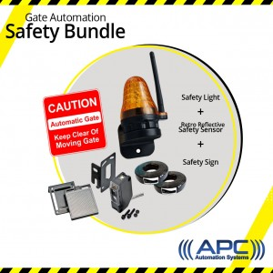Gate Automation Safety Bundle Kit 2 (Retro Reflective Sensor)