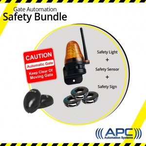 Gate Automation Safety Bundle Kit 1 (Photoelectric Sensor)
