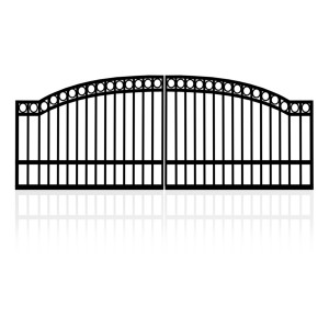 4m Double Arched Top Gates (2x2m)