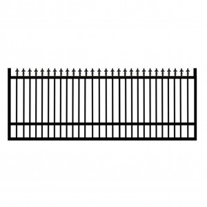 Satin Black Spear Top Gate 3800mmx1200mm