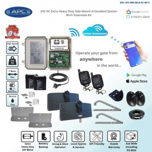 Wi-Fi Controler Gate Opener Kit