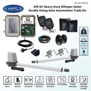 Whisper Quiet Aluminum Telescopic Linear Actuator Kit Gate Automation System