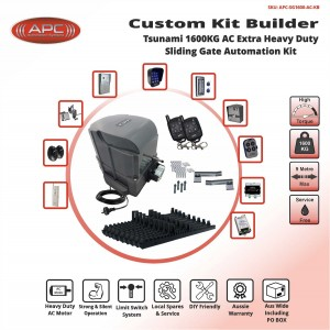 Build Your Own Kit with APC-SG1600-AC Heavy Duty 1600KG System