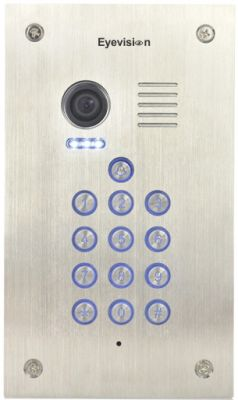 Flush Mount Keypad Stainless Steel Outdoor Unit
