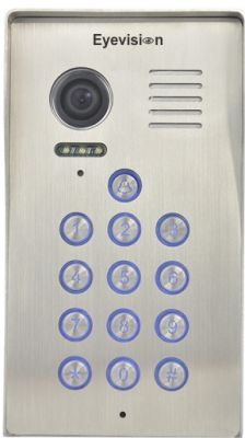 Surface Mount Keypad Stainless Steel Outdoor Unit