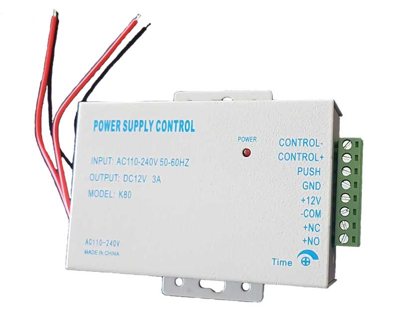 12V 3A Lock Control Power Supply