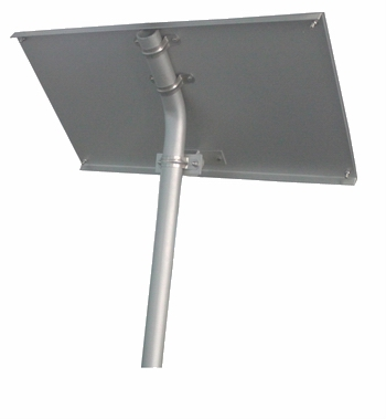 Solar Panel Post & Bracket for APC 40 Watt Solar Panel