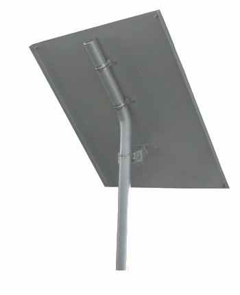 Solar Panel Post & Bracket for APC 60 Watt Solar Panel