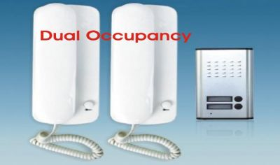 Dual Occupancy Audio Intercom
