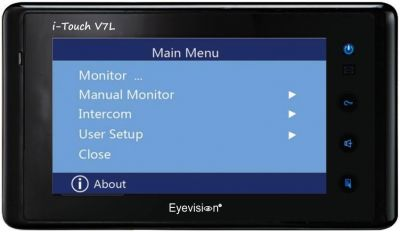 7 Inch L Series Add On Monitor